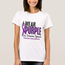 I Wear Purple Someone Special 10 Pancreatic Cancer T-Shirt