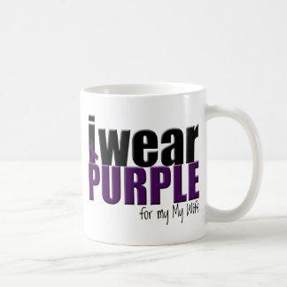 I Wear Purple to Support my Wife Coffee Mug
