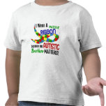 I Wear Puzzle Ribbon For My Brother 33 AUTISM T Shirt