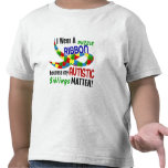 I Wear Puzzle Ribbon For My Siblings 33 AUTISM Shirt