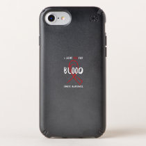 I Wear Red For Blood Cancer Awareness Fighting Speck iPhone Case