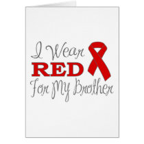 I Wear Red For My Brother (Red Ribbon)