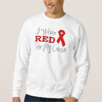 I Wear Red For My Cousin (Red Ribbon) Sweatshirt