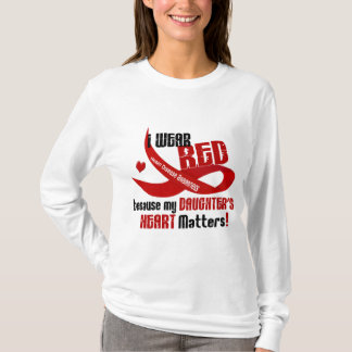 I Wear Red For My Daughter 33 T-Shirt