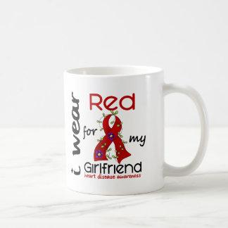 I Wear Red For My Girlfriend 43 Heart Disease Mug