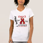 I Wear Red For My Granddaughter 43 Heart Disease Tees