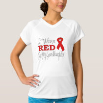 I Wear Red For My Granddaughter (Red Ribbon) T-Shirt