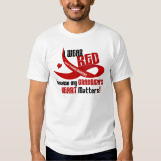I Wear Red For My Grandma's Heart 33 T Shirts