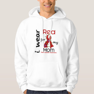 I Wear Red For My Mom 43 Heart Disease Pullover