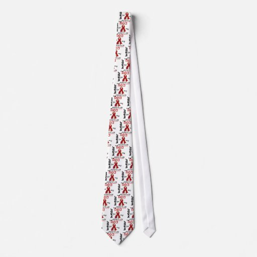 I Wear Red For My Mother-In-Law 43 Heart Disease Tie