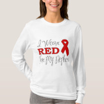 I Wear Red For My Nephew (Red Ribbon) T-Shirt