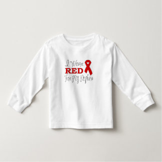 I Wear Red For My Nephew (Red Ribbon) Toddler T-shirt