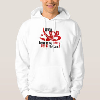 I Wear Red For My Son 33 Hoodie