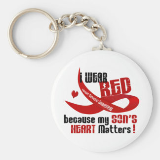 I Wear Red For My Son 33 Key Chains