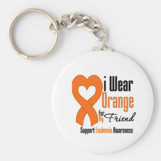 I Wear Ribbon (Friend) - Leukemia Key Chains