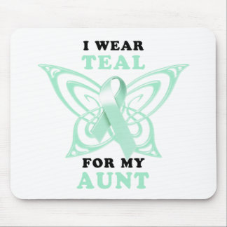 I Wear Teal for my Aunt Mouse Pad