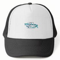 I Wear Teal For My Aunt Ovarian Cancer Awareness Trucker Hat