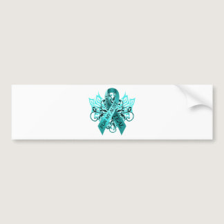 I Wear Teal for my Aunt.png Bumper Sticker