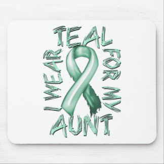 I Wear Teal for my Aunt.png Mouse Pad
