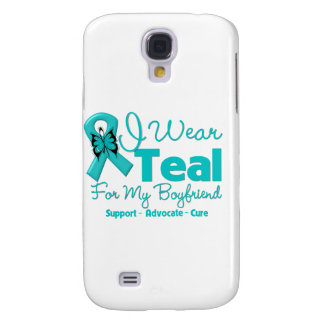 I Wear Teal For My Boyfriend Samsung Galaxy S4 Cases