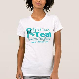 I Wear Teal For My Boyfriend Tshirts