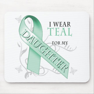 I Wear Teal for my Daughter Mouse Pad