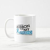 I Wear Teal For My Friend Ovarian Cancer Awareness Coffee Mug