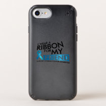 I Wear Teal For My Friend Ovarian Cancer Awareness Speck iPhone Case