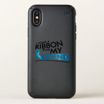 I Wear Teal For My Friend Ovarian Cancer Awareness Speck iPhone X Case