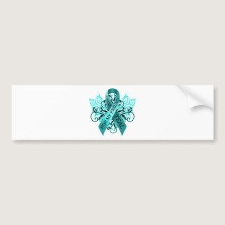I Wear Teal for my Friend.png Bumper Sticker
