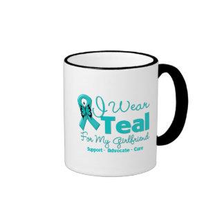 I Wear Teal For My Girlfriend Coffee Mug
