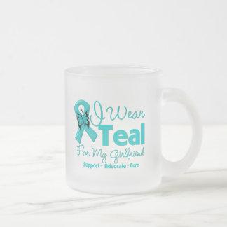 I Wear Teal For My Girlfriend Mugs