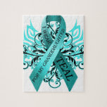 I Wear Teal for my Granddaughter.png Jigsaw Puzzle