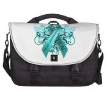 I Wear Teal for my Granddaughter.png Bag For Laptop