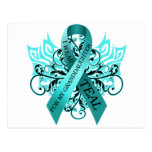 I Wear Teal for my Granddaughter.png Post Cards