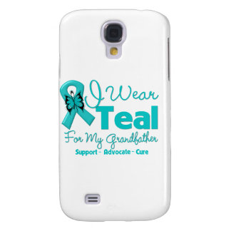 I Wear Teal For My Grandfather Galaxy S4 Case