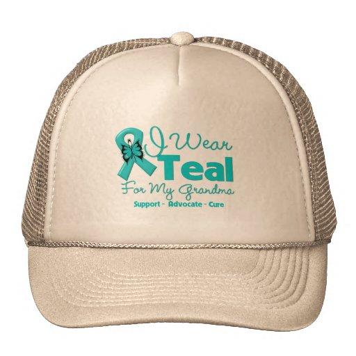 I Wear Teal For My Grandma Mesh Hat