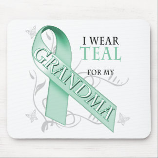 I Wear Teal for my Grandma Mouse Pad