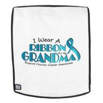 I Wear Teal For My Grandma Ovarian Cancer Awarenes Backpack
