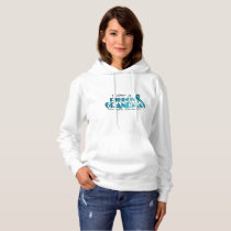 I Wear Teal For My Grandma Ovarian Cancer Awarenes Hoodie