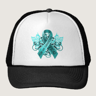 I Wear Teal for my Grandma.png Trucker Hat