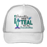 I Wear Teal For My Grandmother 27 Ovarian Cancer Hats