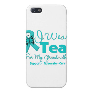 I Wear Teal For My Grandmother iPhone 5 Covers