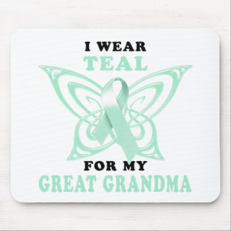 I Wear Teal for my Great Grandma Mouse Pad