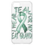 I Wear Teal for my Great Grandma.png iPhone 5C Cases