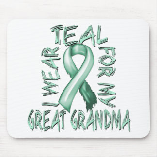I Wear Teal for my Great Grandma.png Mouse Pad