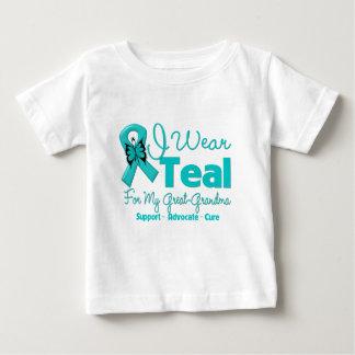 I Wear Teal For My Great-Grandma Shirt