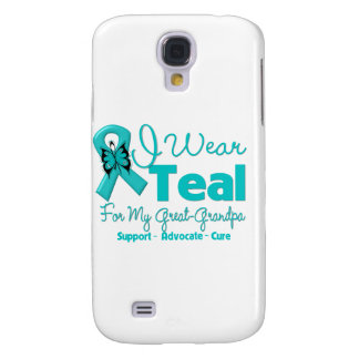 I Wear Teal For My Great-Grandpa Samsung Galaxy S4 Cover