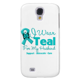 I Wear Teal For My Husband Galaxy S4 Cover