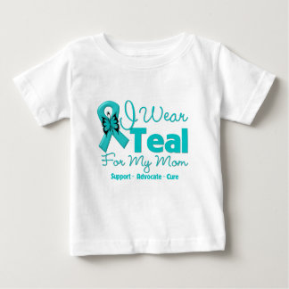 I Wear Teal For My Mom Baby T-Shirt